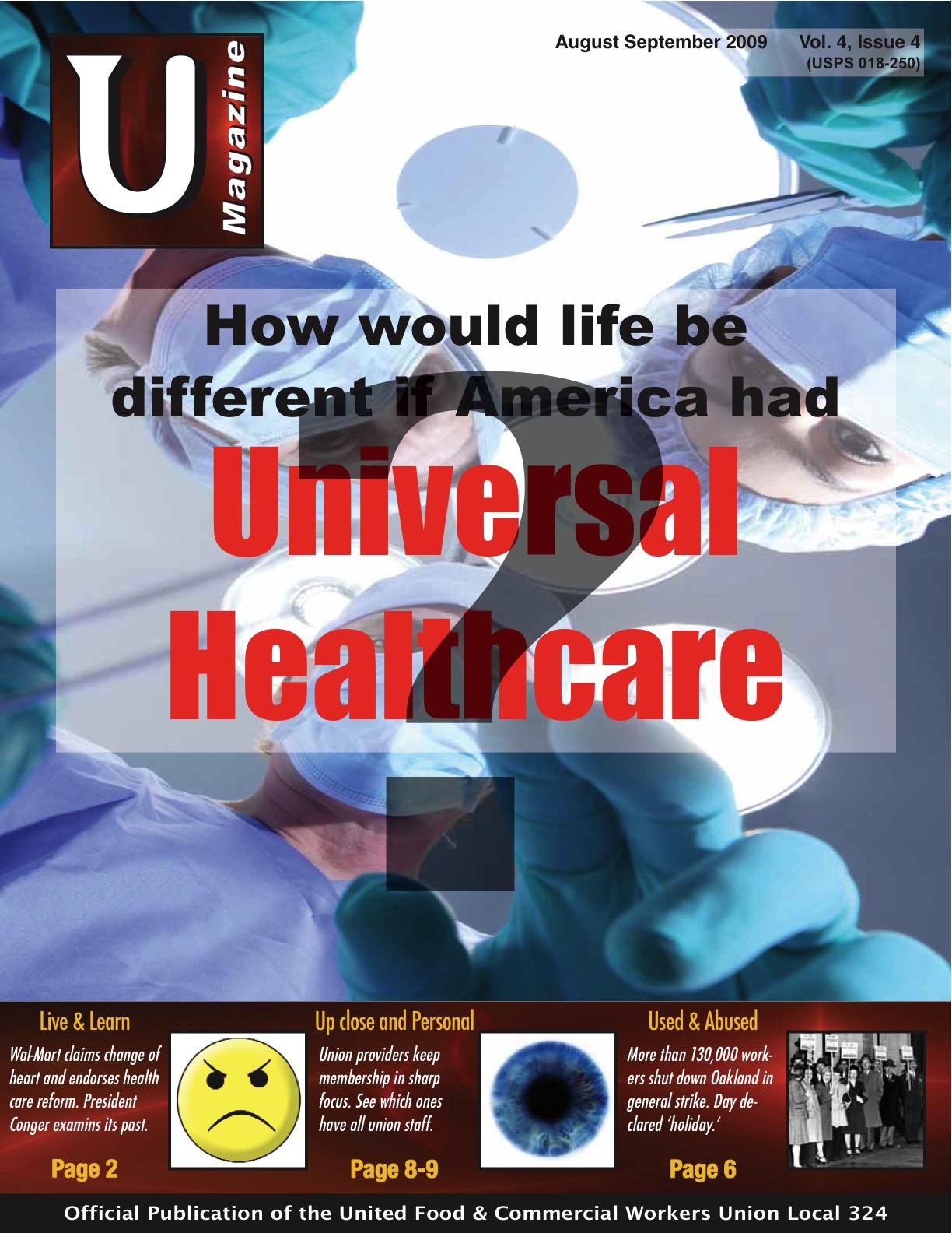 UMagazine August-September 2009