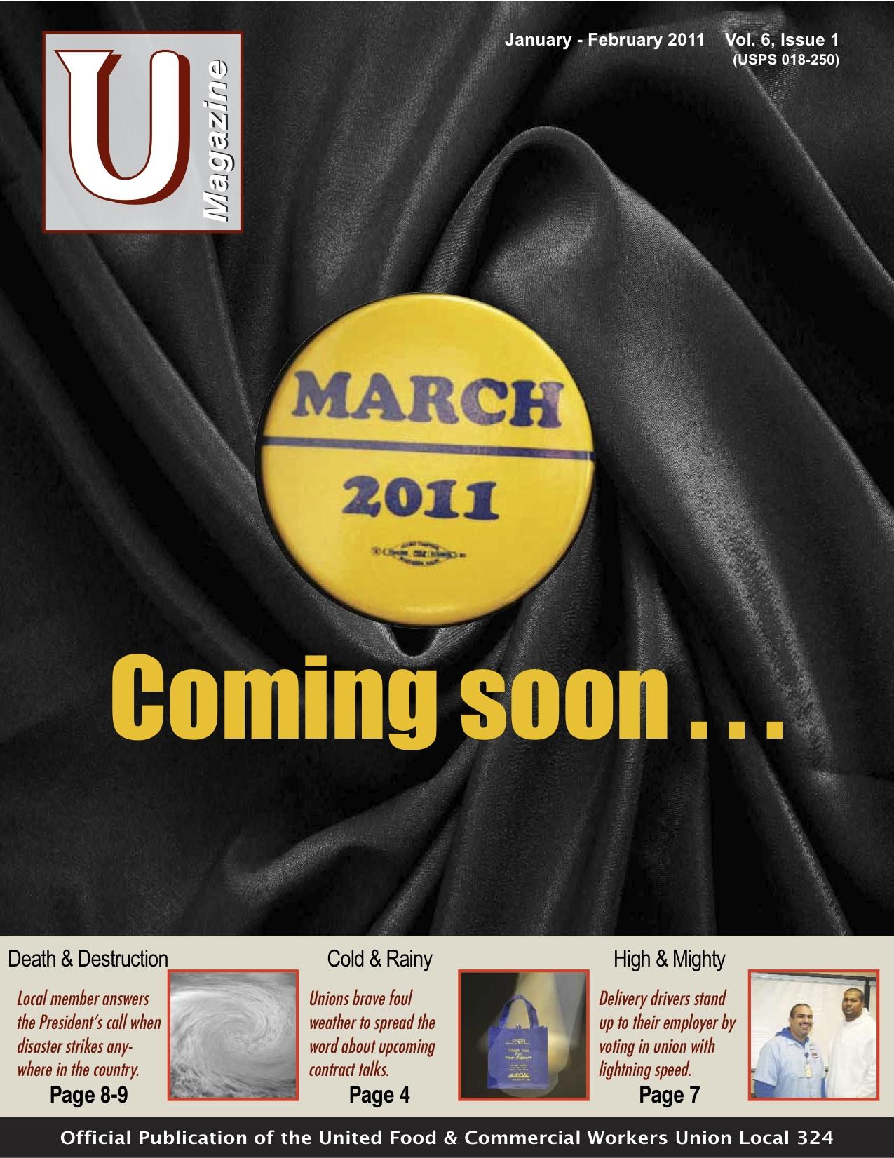 UMagazine January-February 2011