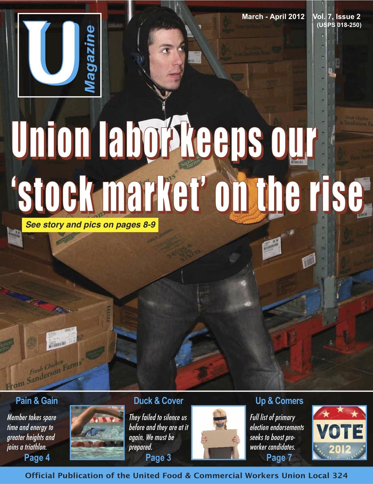 UMagazine March-April 2012