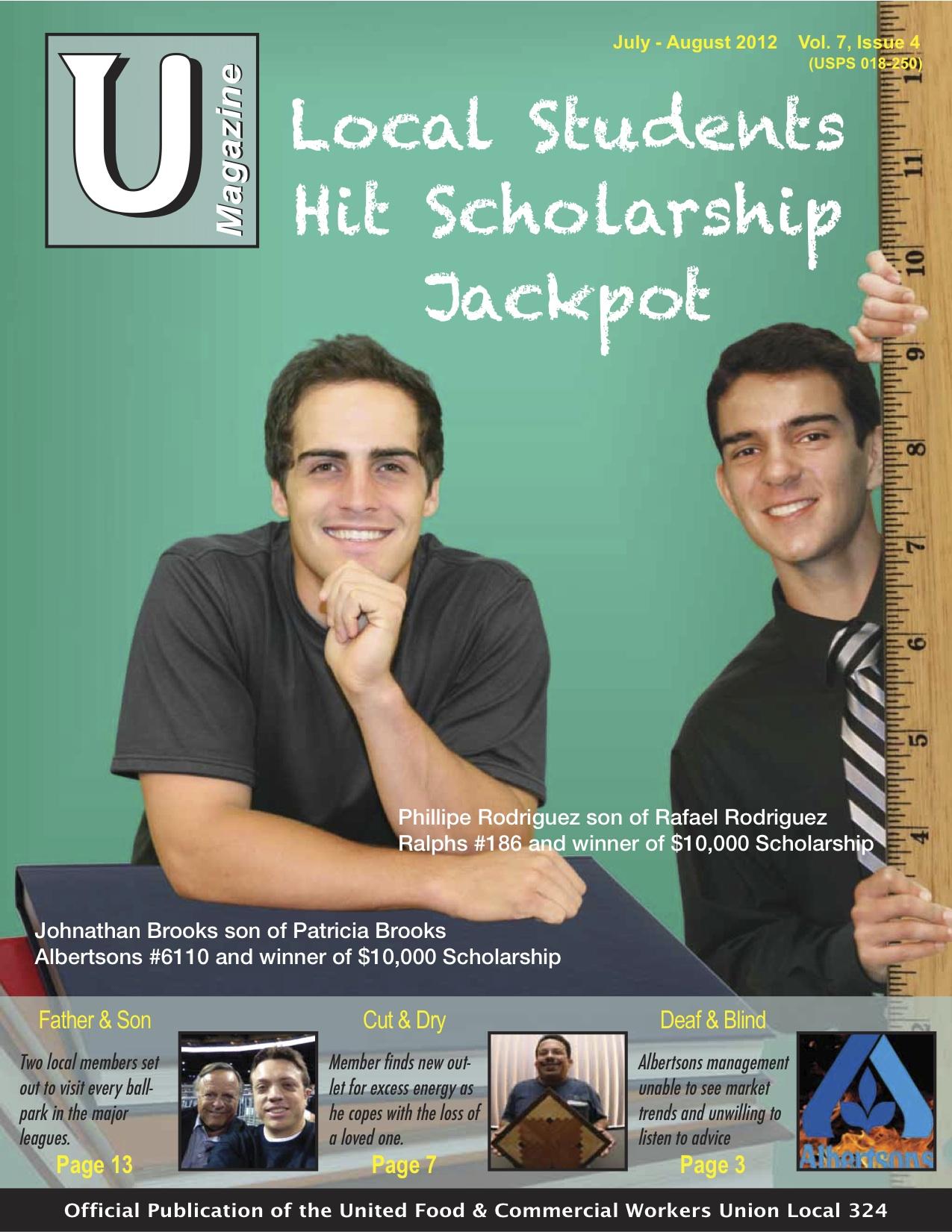 UMagazine July-August 2012