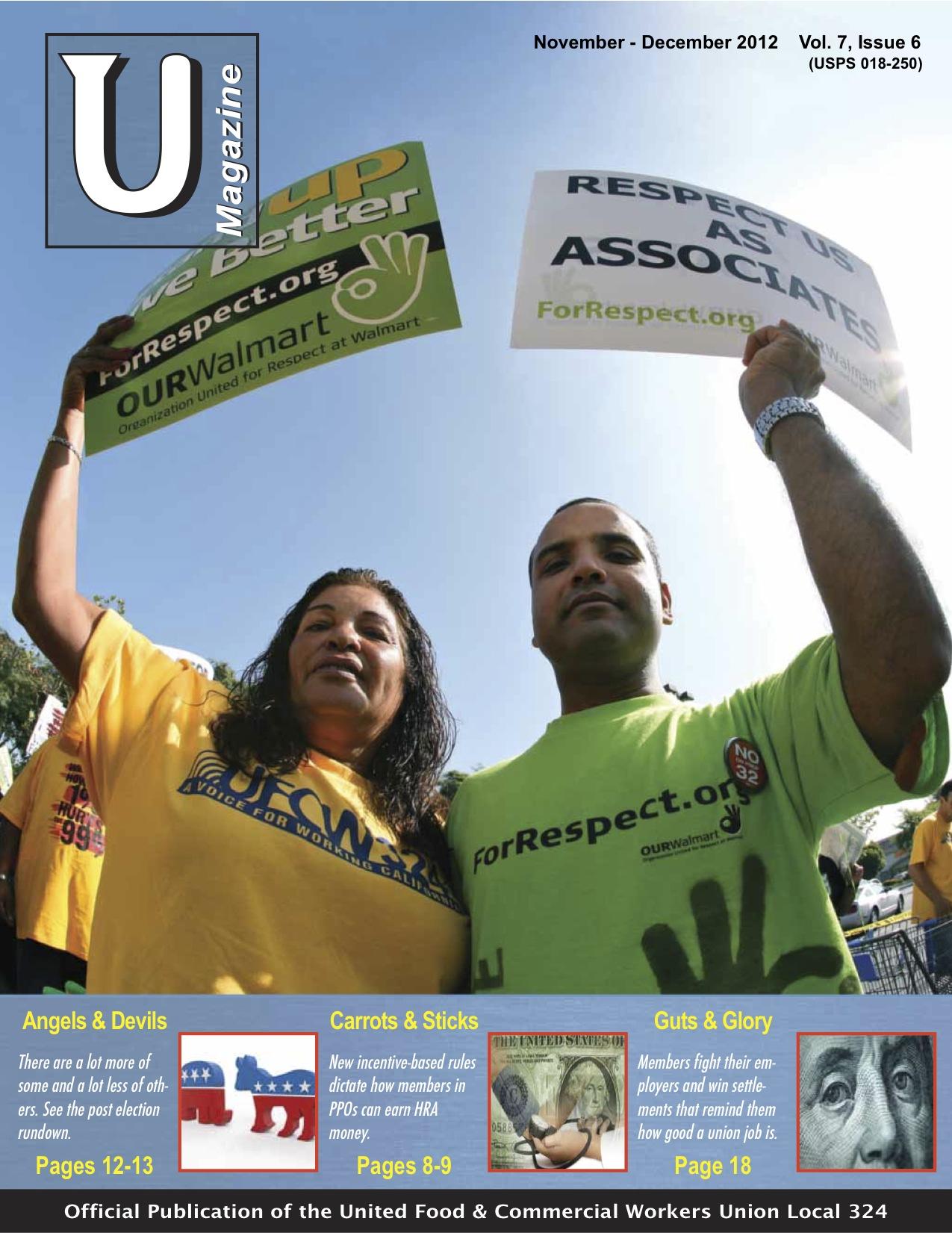 UMagazine November-December 2012