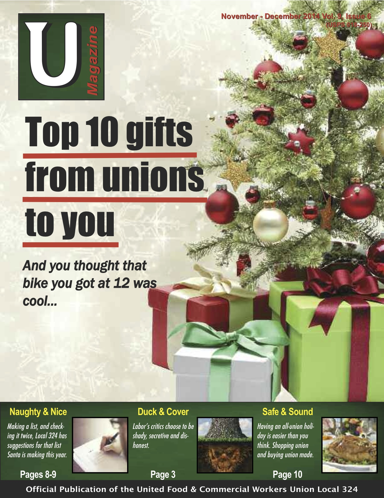 UMagazine November-December 2014