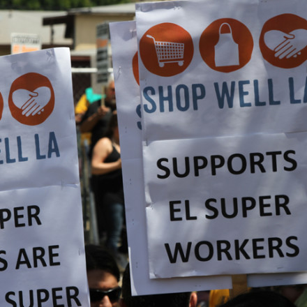 Market workers fight big foreign corporation