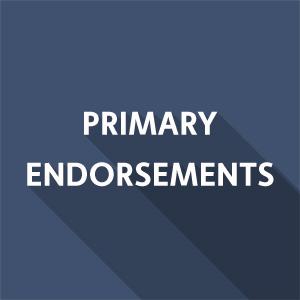 March 2020 Endorsements