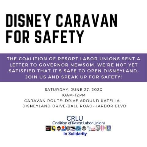Disney Caravan for Safety
