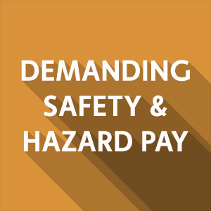 Calling on Ralphs/Food 4 Less to demand safety & hazard pay