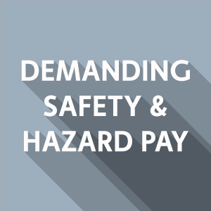 Calling on Albertsons/Vons to demand safety and hazard pay