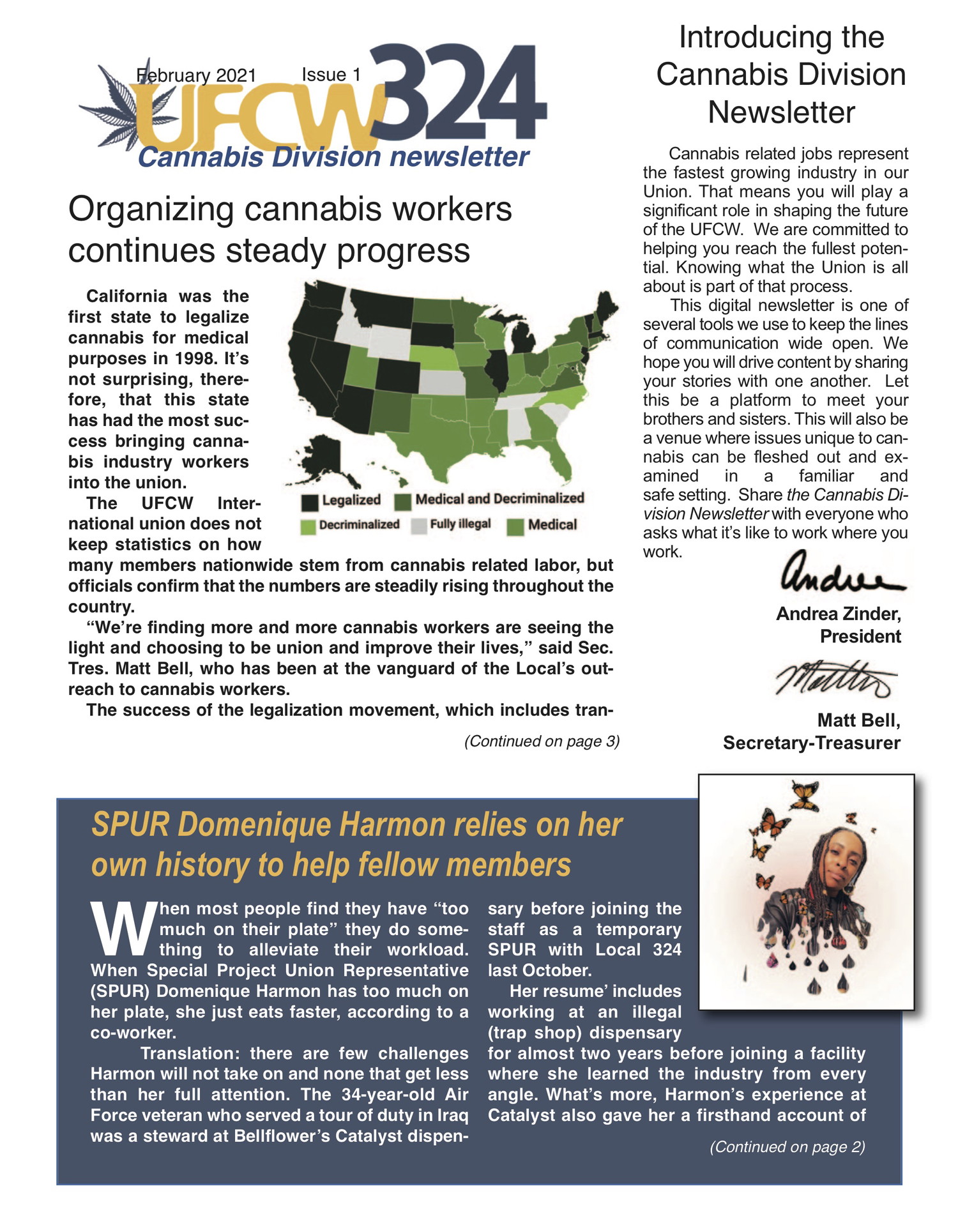 UFCW 324 Newsletter- Cannabis Division