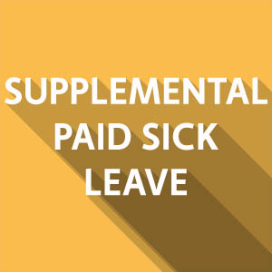 2021 COVID-19 SUPPLEMENTAL PAID SICK LEAVE