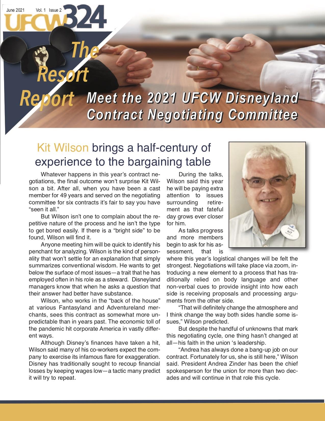 UFCW 324 Newsletter- Disney V1-I2